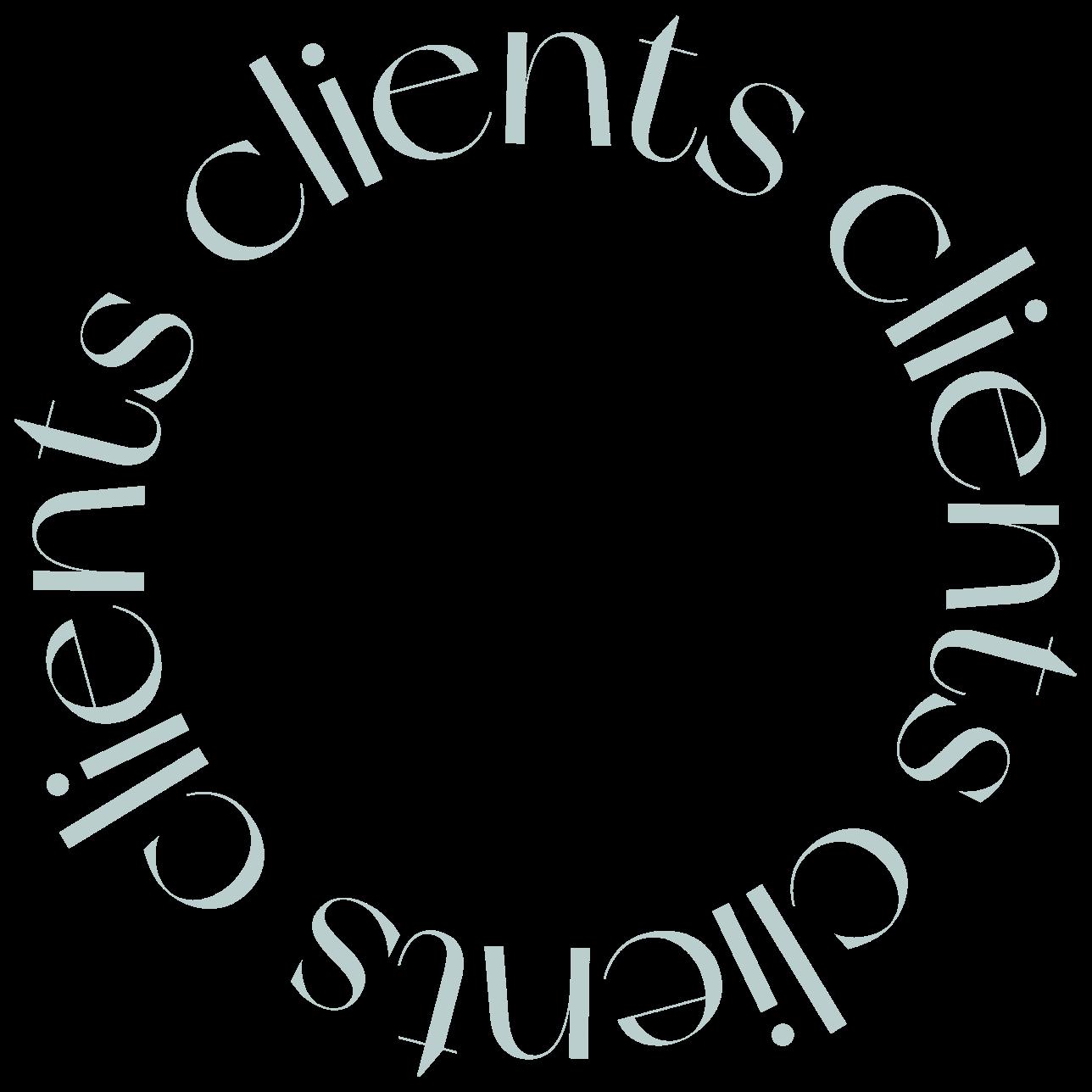 cb circle clients text