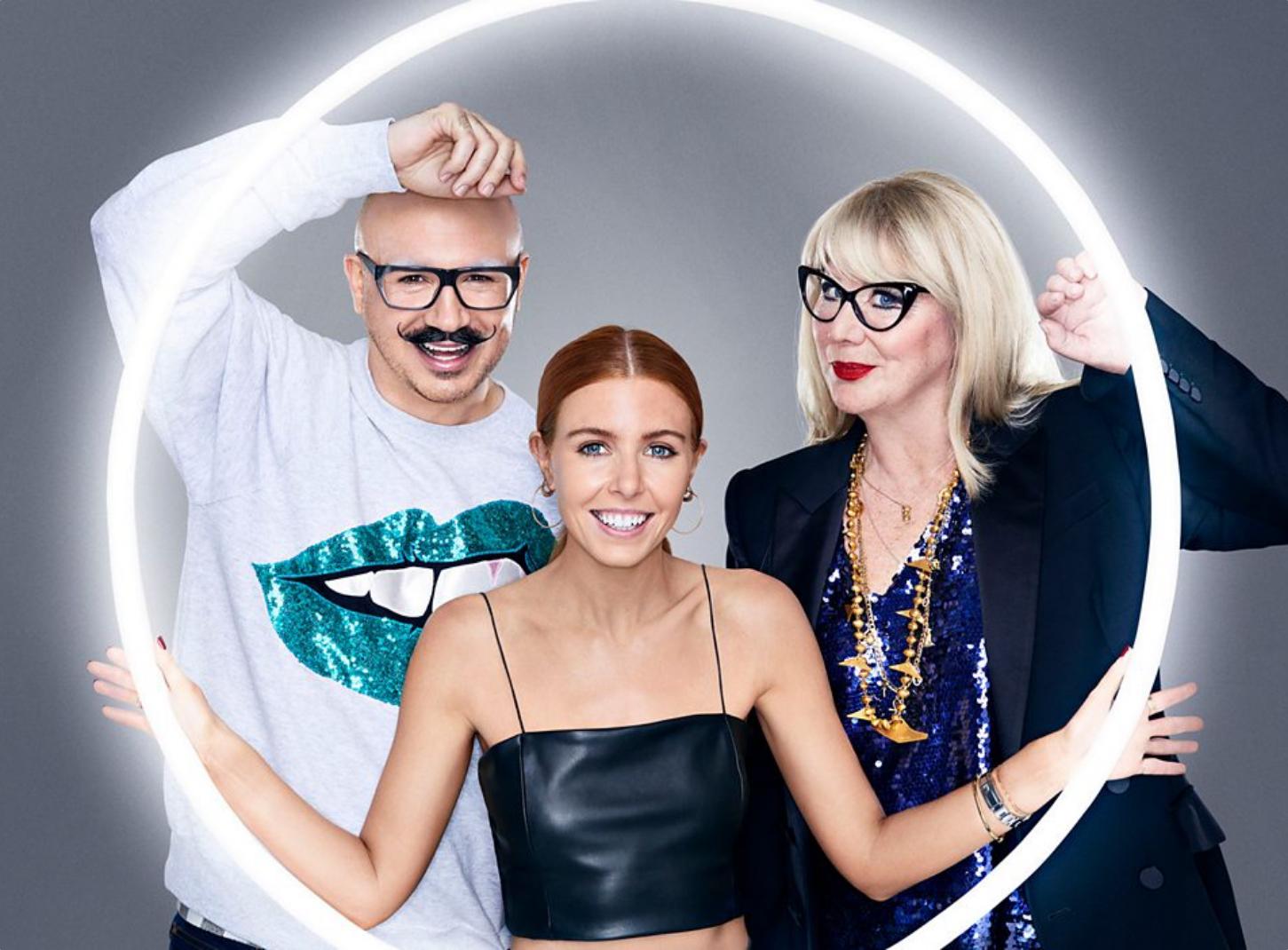 glow up bbc three presenters